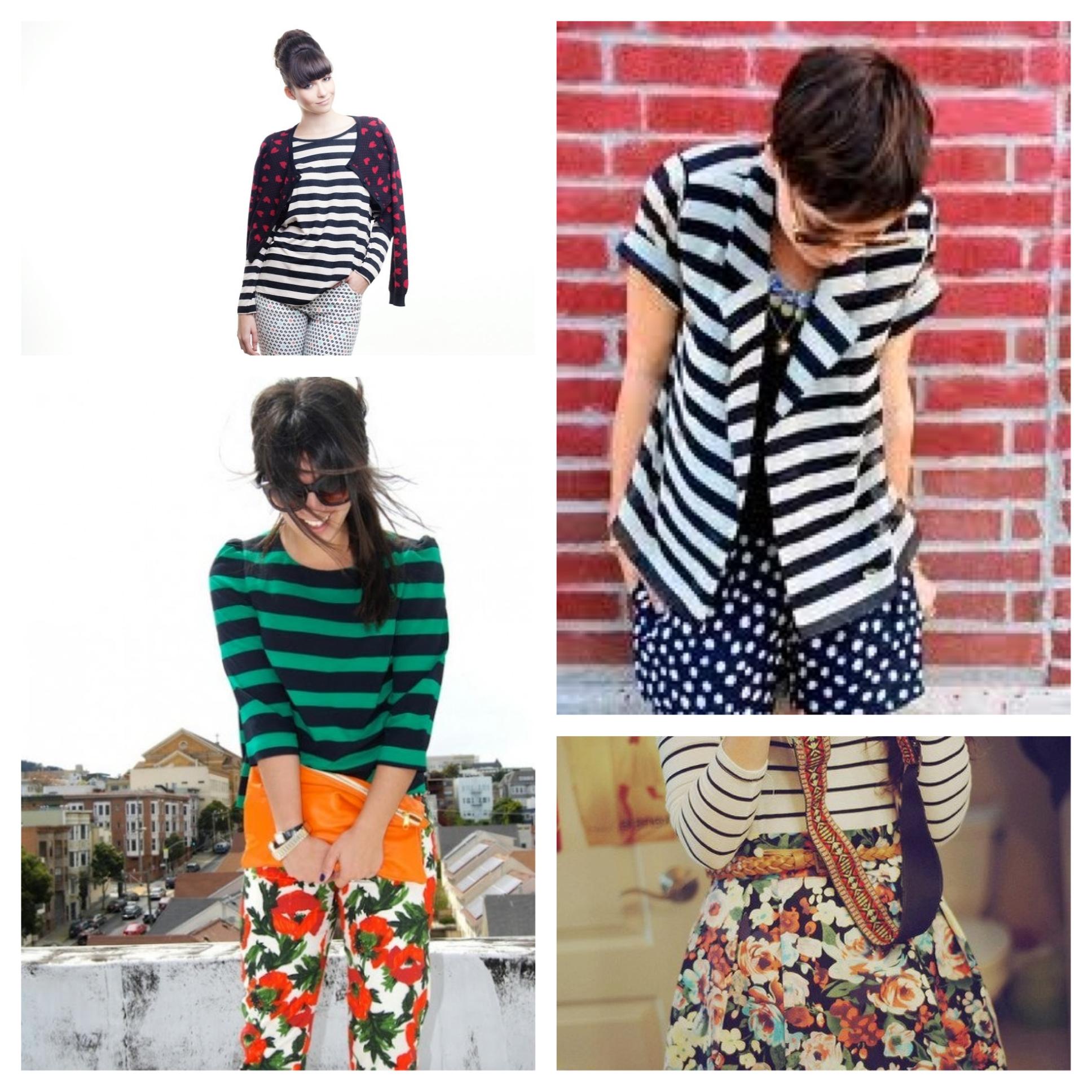 listras, mix de estampas, listras com flores, como usar, dicas de moda, tendencia, fashion