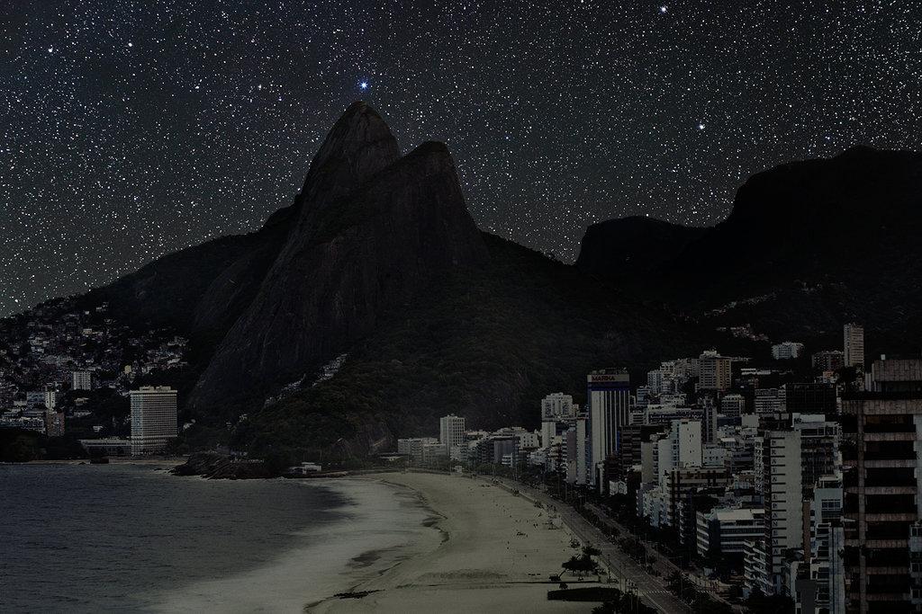 Las ciudades del mundo sin contaminación lumínica Riodejaneiro