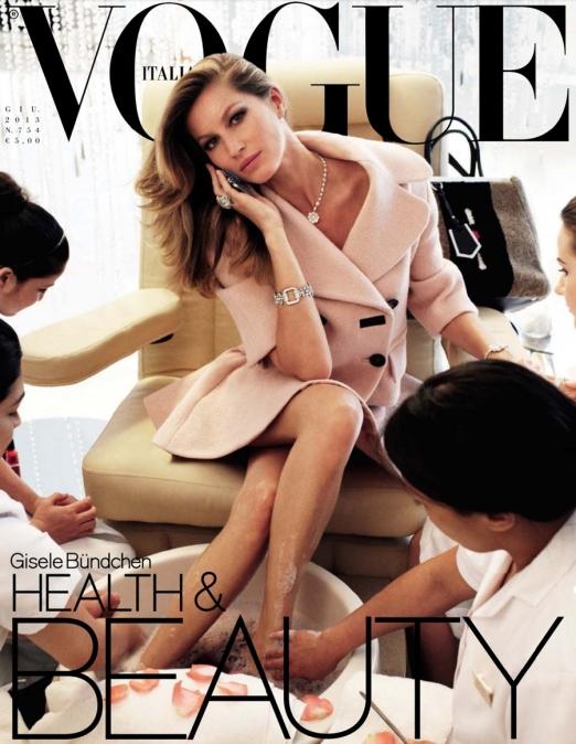 Vogue+Italia+Junho2013+Gisele+Bundchen